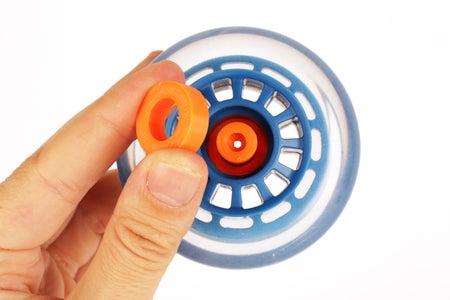 Insert the Wheel Hub