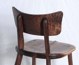Walnut Cafe Chair
