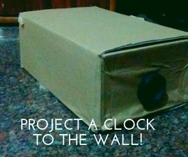 DIY Clock Projector!