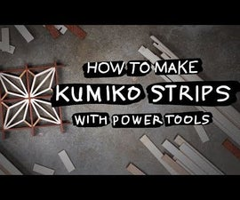 DIY: Milling Kumiko Strips With Power Tools
