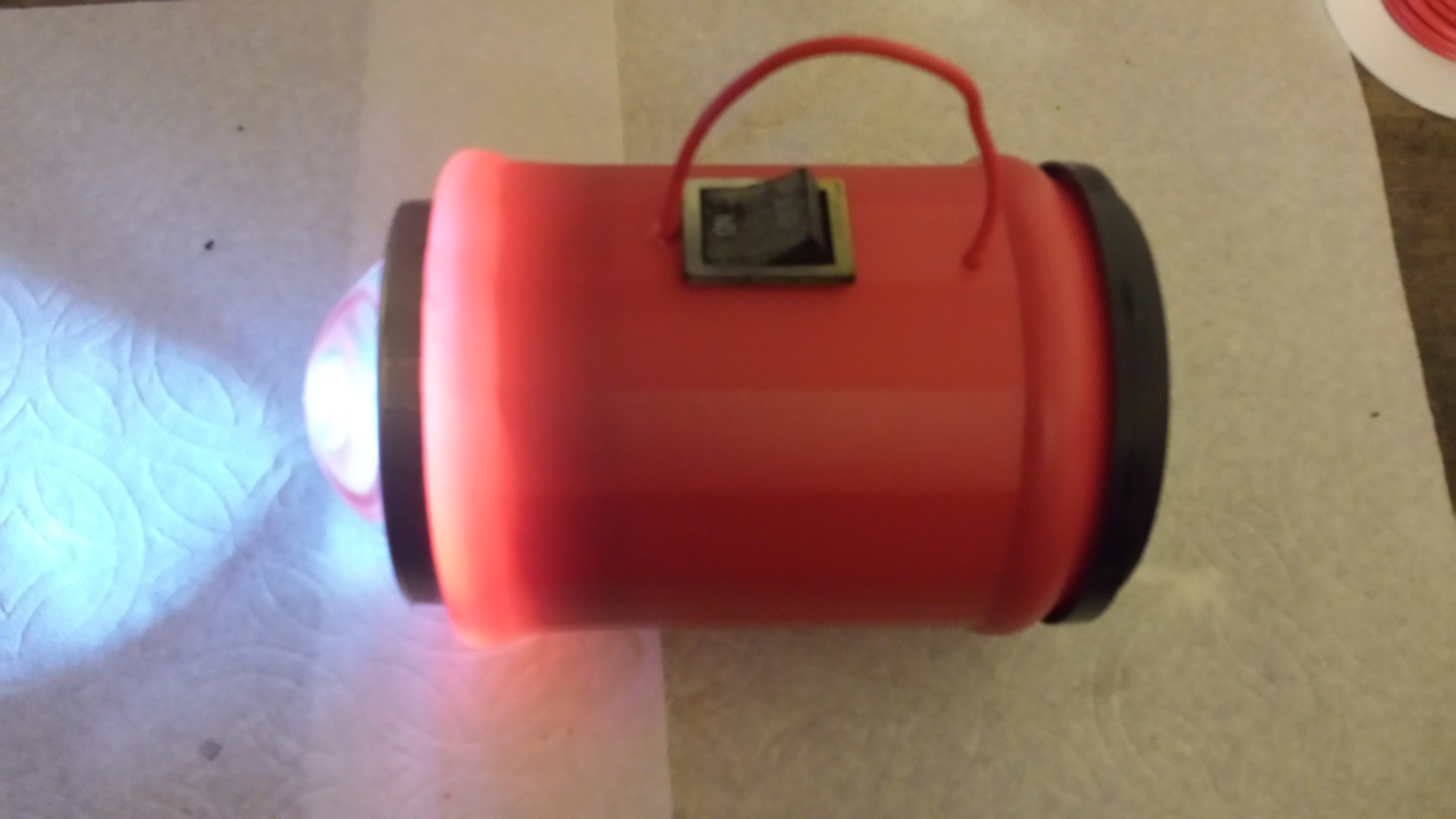 Picture of Flashlight From Shop Junk.