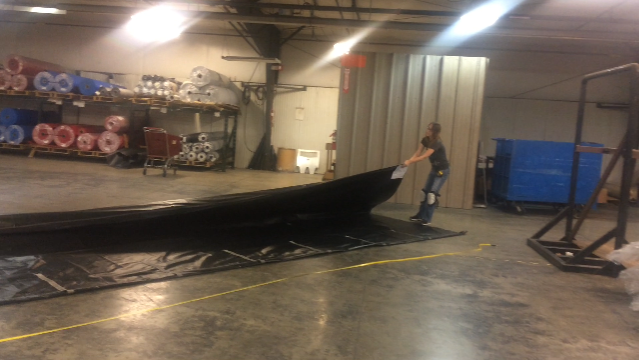 Picture of Folding the Tarp