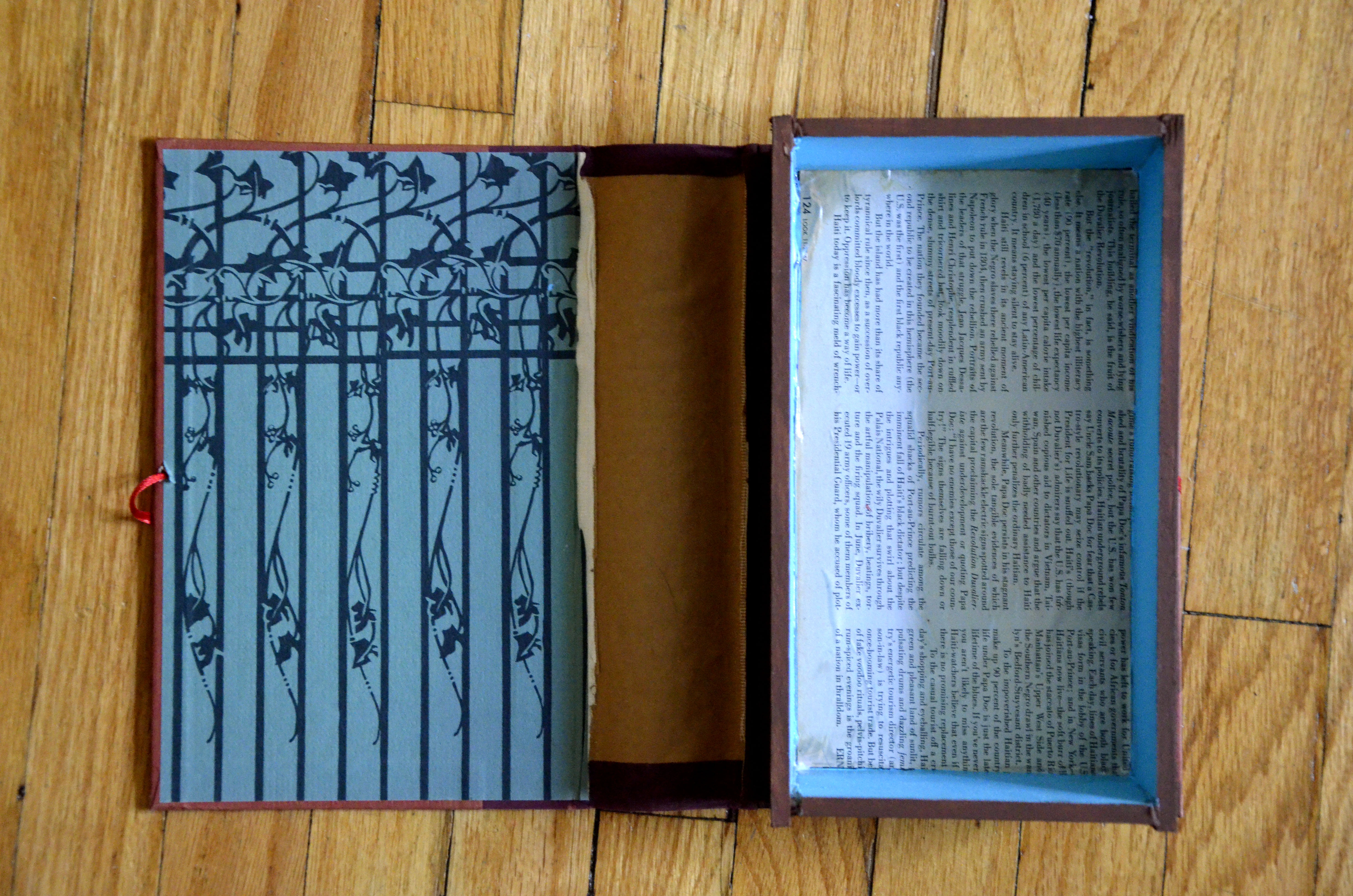 Picture of How -To: Turn an Old Book Into a Storage Box