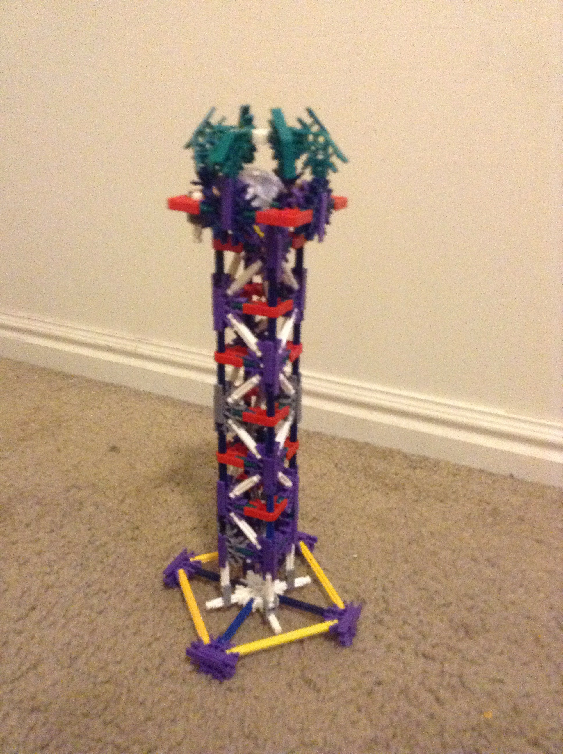 Picture of Knex Lamp