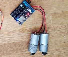 Motorize IoT With ESP8266