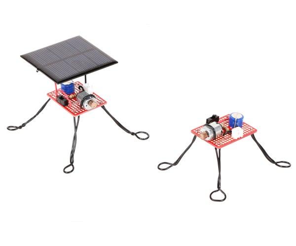 Supercapacitor Vibrobot