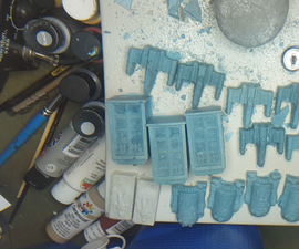 Shapecrete Casting with silicone molds