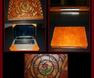 "13"" Macbook Pro Leather Case"