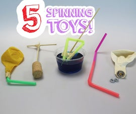 5 Toys That Spin!