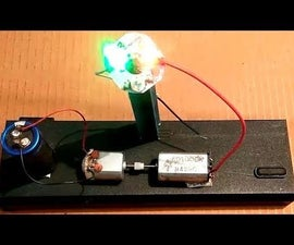 A Voltage Booster Using Two DC Motors: