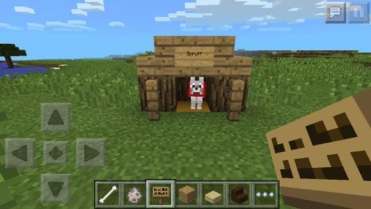 Minecraft PE:  Wolf Kennel