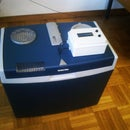Hack a picnic cooler (into a thermostatic chamber)