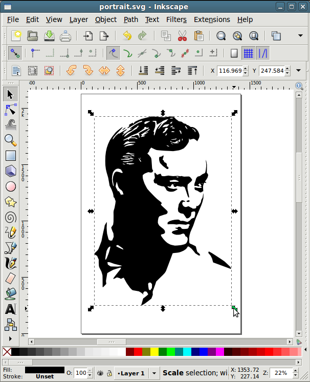 Picture of Vectorising an Image