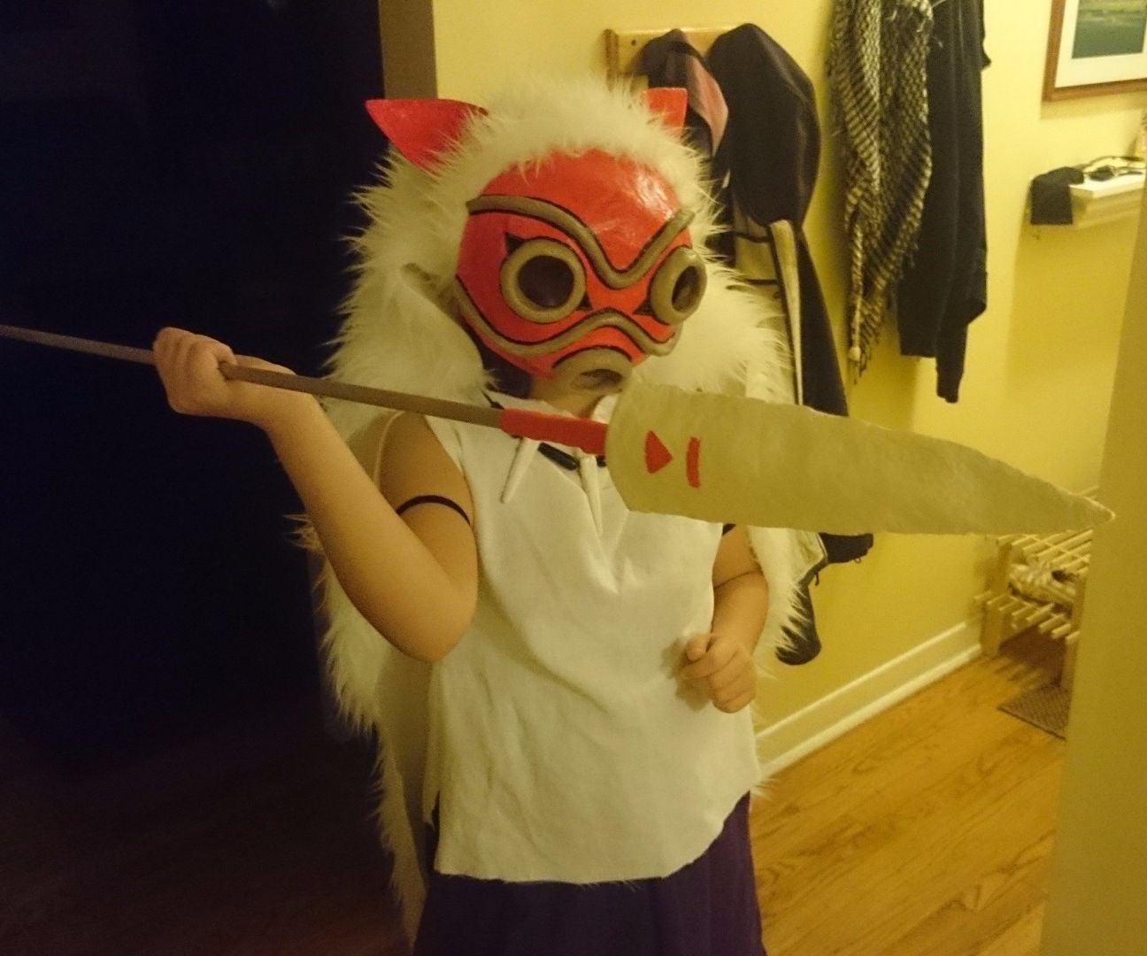 Making A Princess Mononoke Costume 8 Steps Instructables