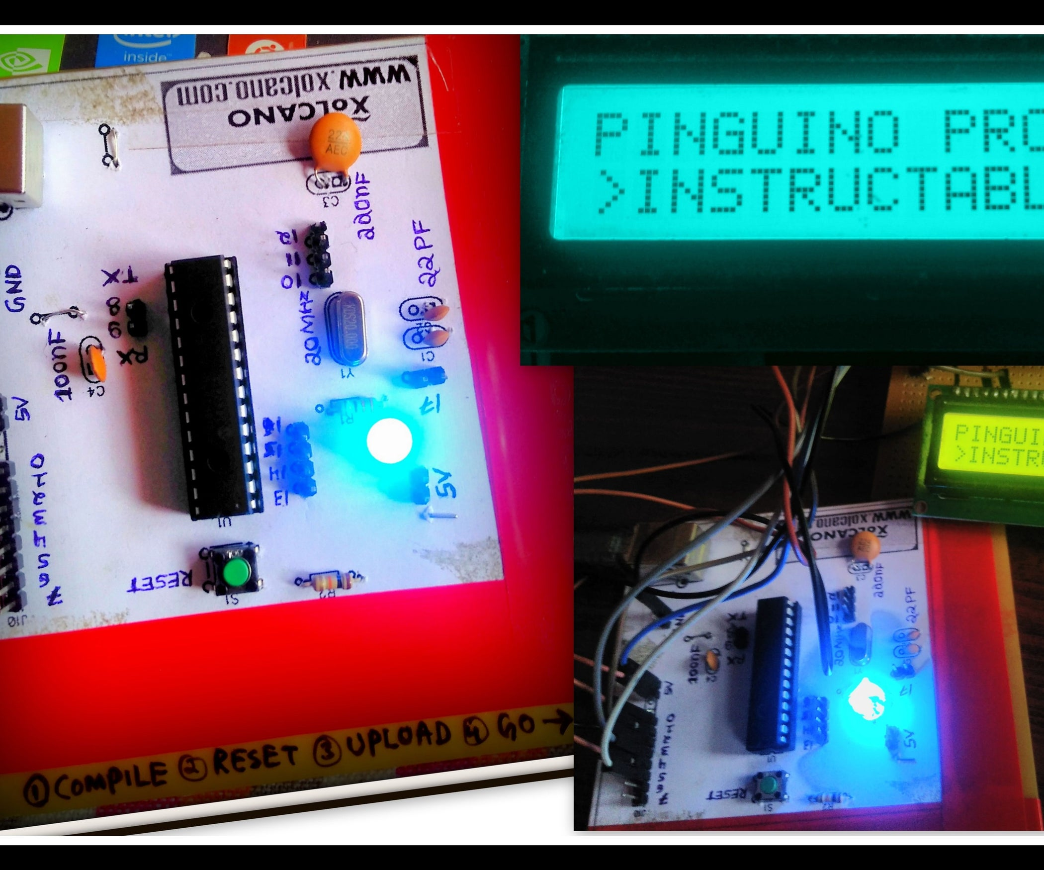 Pinguino Project A Pic Microcontroller Based Arduino No Programmer Notebook Ide Interface Cdrom To Usb External Drive Circuit Boardred Required 11 Steps With Pictures