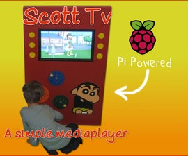 ScottTV - A Simple Media Player For My Autistic Son