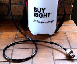 Make A Home Brew Keg Line Cleaner