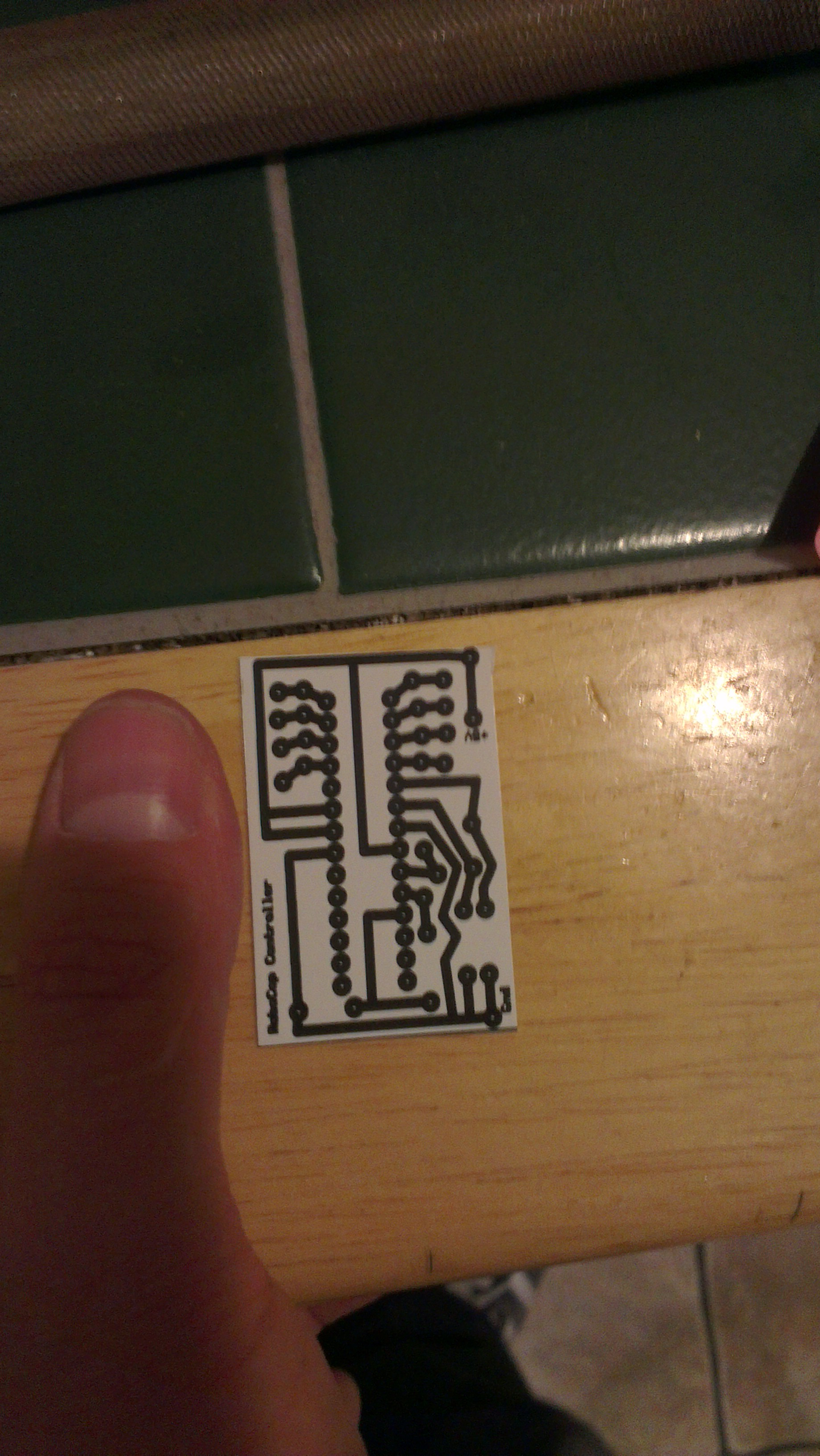 Picture of Micro Board Printing and Transfering