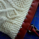 Converting a handbag into a sweater bag