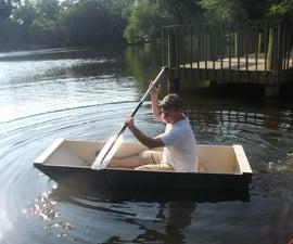 The BO-AT Single Sheet Plywood Boat