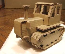 Tractor-cardboarder