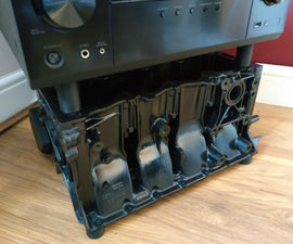 Engine Block TV Stand