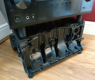 Engine Block TV Stand