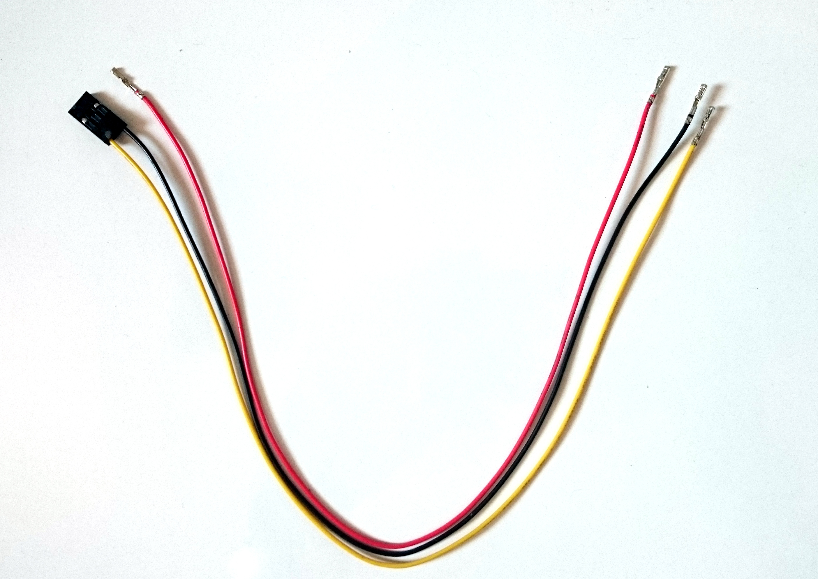 Picture of Prepping the Connection Cable