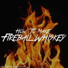 DIY Fireball Whiskey