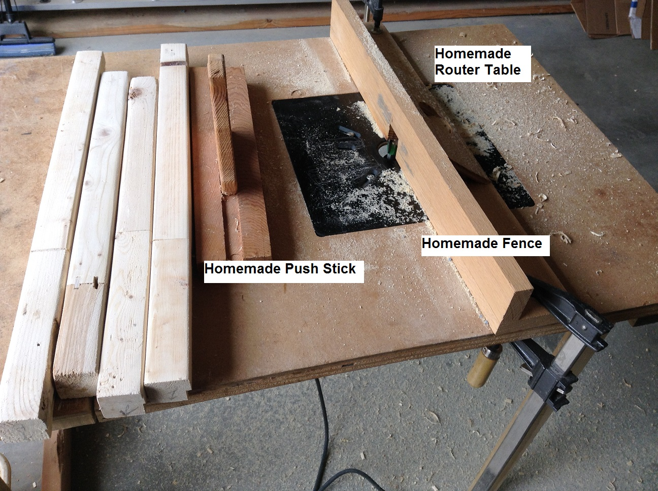 Picture of Assembly - Part Two - Routing the Frame - Part B