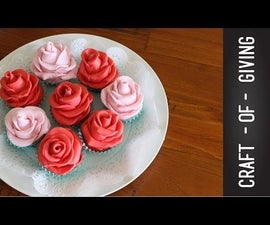 Valentine's Day Edible Roses | Craft of Giving