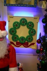 Snowflake Gear Wreath