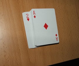 Blind man's cards
