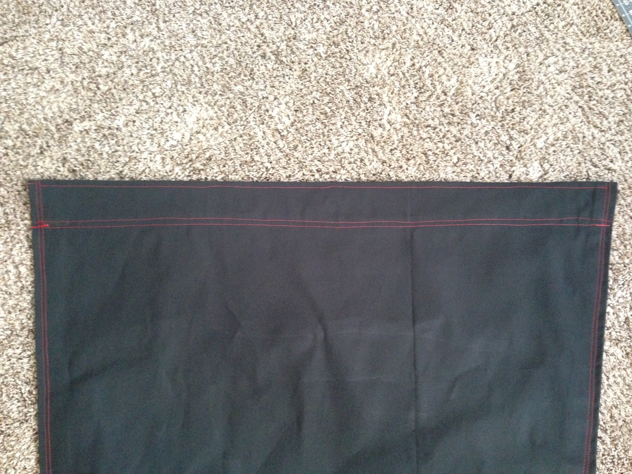 Picture of Sew the Pockets for Support Beams