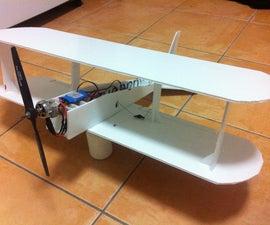 Coreflute R/C Biplane