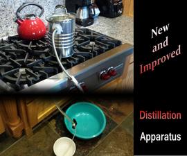 Enhanced Easy, Economical, Ecological Distillation - Apparatus 2.0