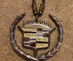 Cadillac Emblem Necklace