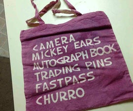 """Essentials"" list Tote bag"