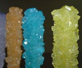 Cristals sugar lollipop