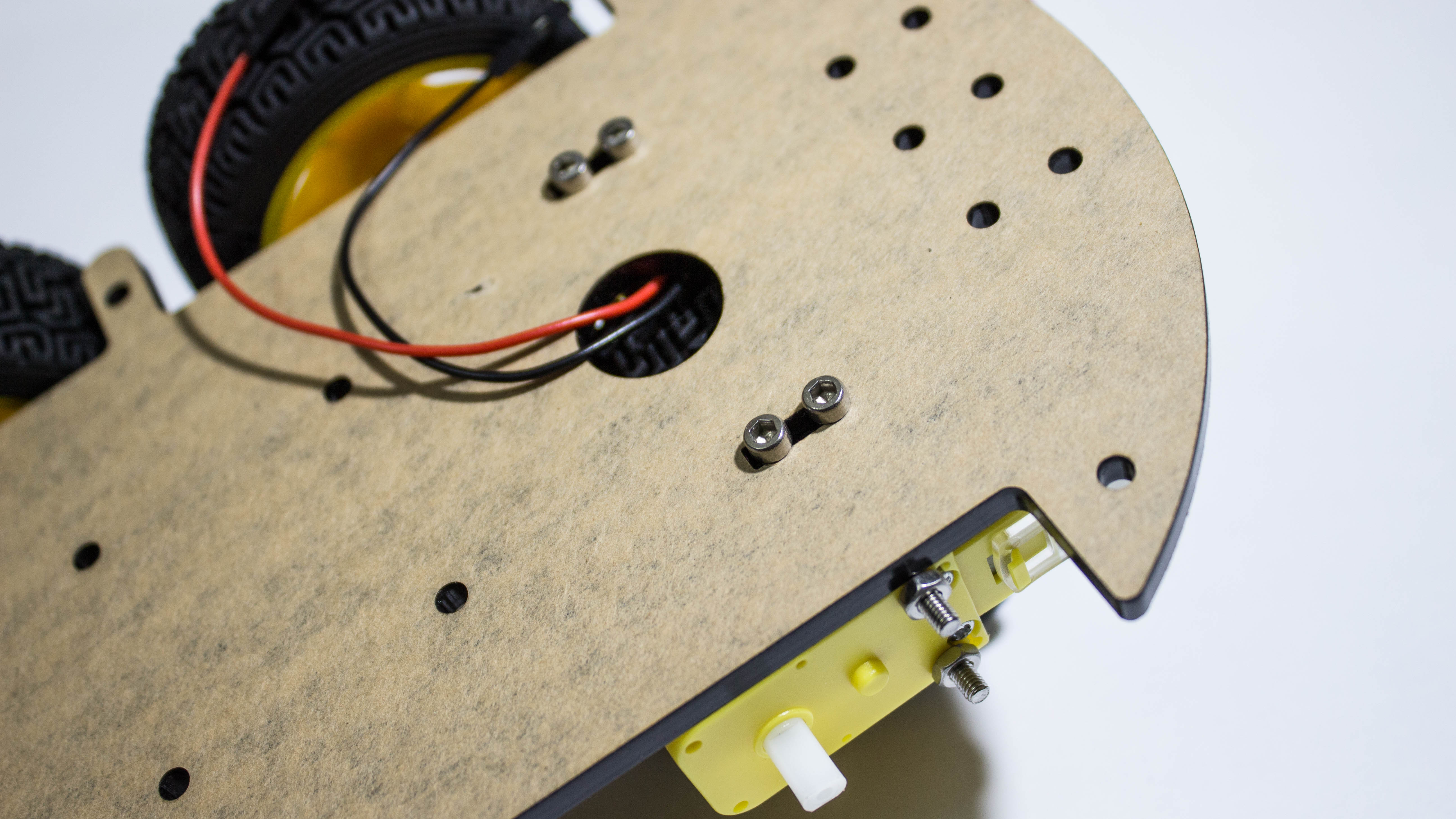 Picture of Mounting the Motors