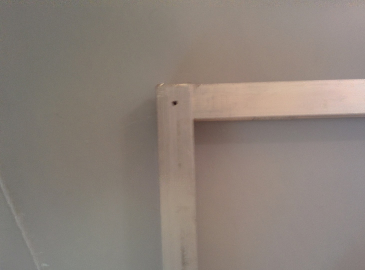 Picture of Drill Holes for Corner Rivets and Rivet the Top and Bottom