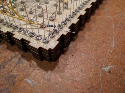 Add Resistors to the Sunrise LEDs