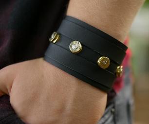 DIY Bullet Leatherband