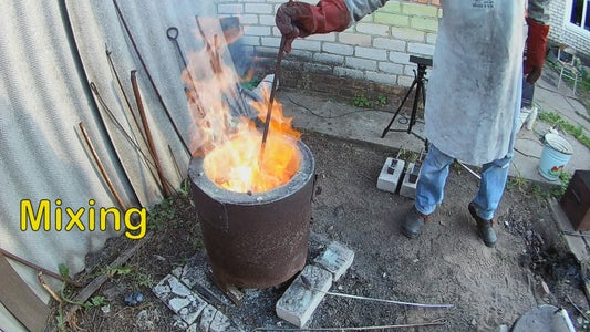 Melting, Mixing and Casting