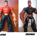 action man to Hellboy