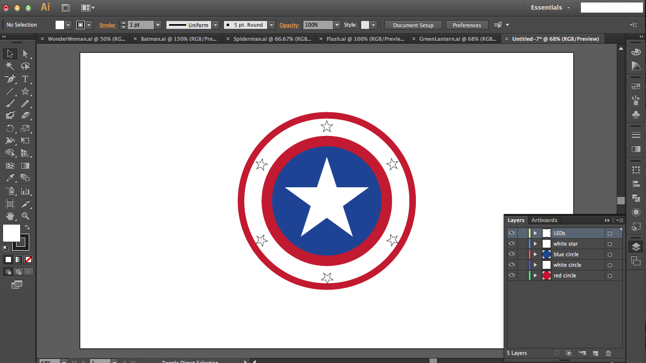 Picture of Captain America: Minimizing Your Number of Layers (part 2)