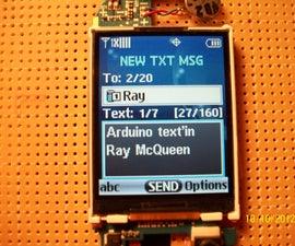 Arduino text'in