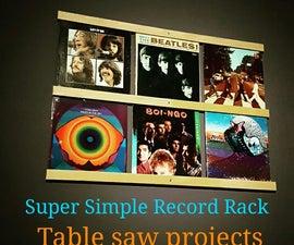 Expandable Vinyl Record Display
