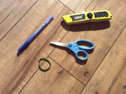 Make a Pen Bow and Arrow