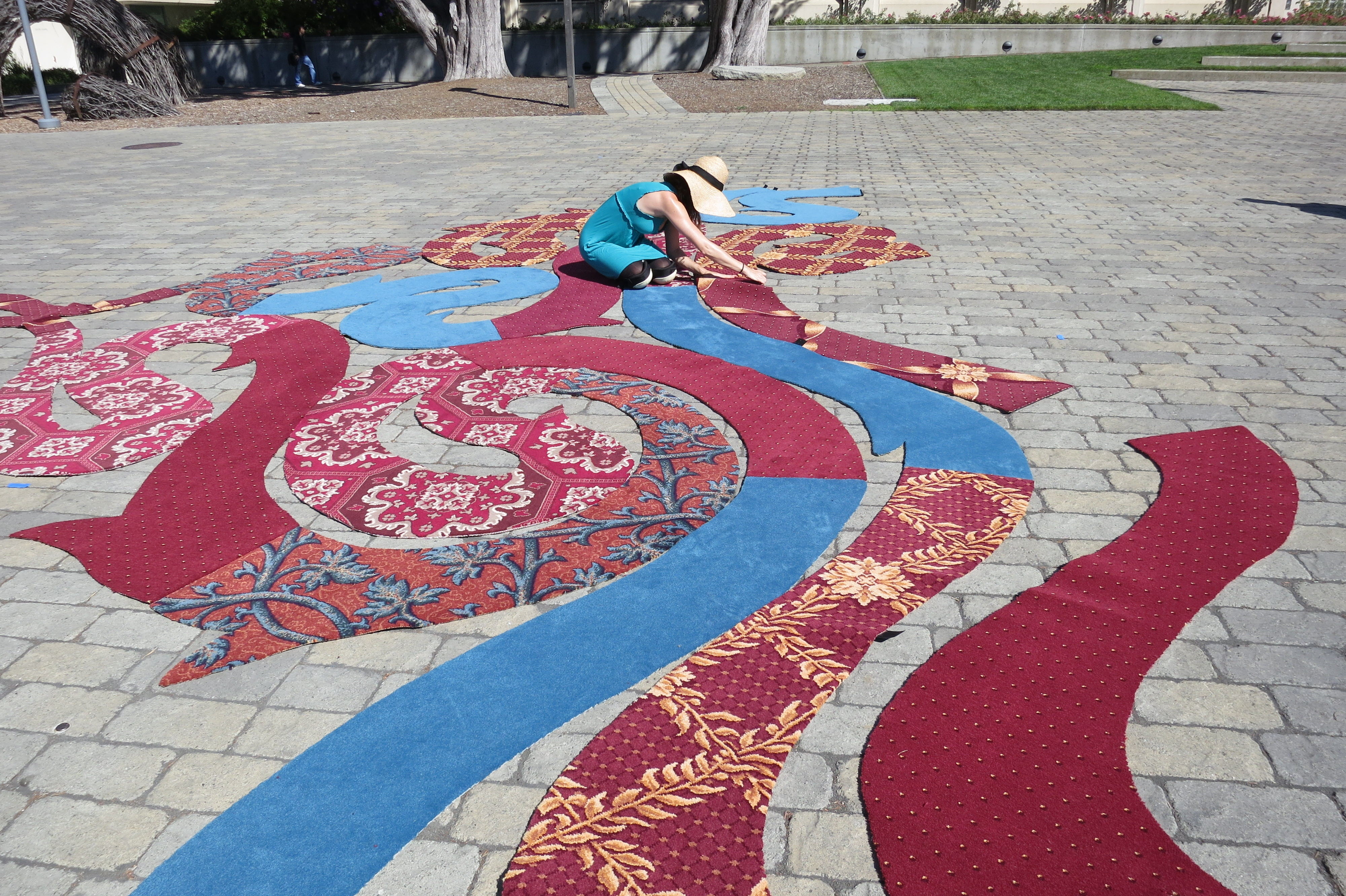 Picture of Installing the Labyrinth